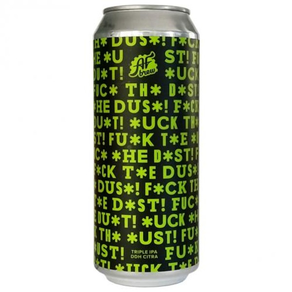 F*CK THE DUST! DDH CITRA, (Triple New England IPA),  ж/б